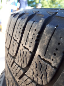 Winter tires on rims - Michelin x ice 185 / 60 R 15