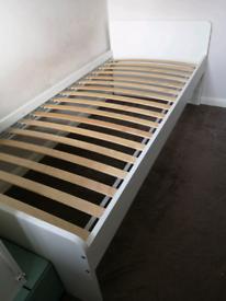 Child's IKEA slakt bed.
