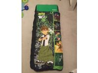 Junior Ready Bed - Kids airbed and sleeping bag in one - Ben 10 Theme