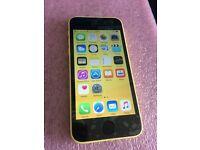 iPhone 5c - sim free / unlocked - 16gb - yellow