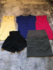 Lot of Summer Maternity Clothes - Size XL