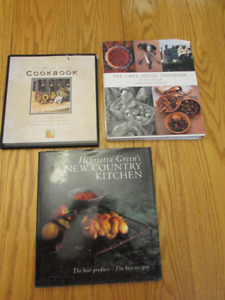 3 Cookbooks