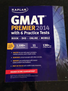 GMAT 2014: 3 books and 1 CD - with 6 practice Tests