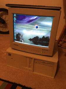 Fully working vintage PC - Socket 7 Intel Pentium MMX - IDE HDD