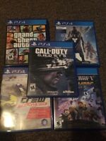 PS4 games !