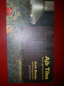 tile installer and Labour postions