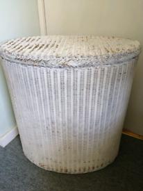 Lloyd Loom laundry basket