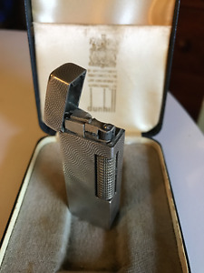 DUNHILL ROLLAGAS STERLING SILVER LIGHTER