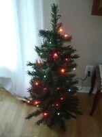Sapin Noel artificiel 44 po - Christmas tree 44 in.