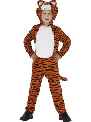 Boys Girls Tiger Costume Fancy Dress Tween 12+ Book Day Teen Plus size