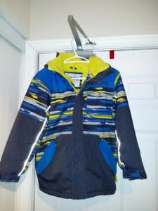 Winter jacket size 10 blue