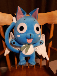 """""""HAPPY"""" FROM FAIRY TAIL PLUSH BAG WITH POCKET"""
