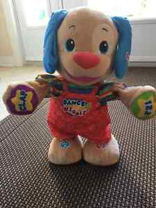 Fisher price educational dog