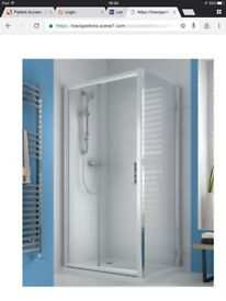 Iflo Ravana 1000x800 shower enclosure unused