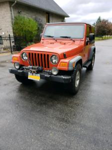 2006 jeep tj sport