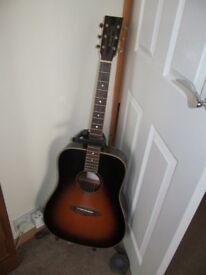 Acoustic Guitar-LEFT HANDED-Tanglewood Rosewood TRD-LH-VS 6 string