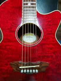 Washburn EA18 Festival Series, EA18TR Electro Acoustic Guitar Red Ash