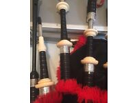 Set of bagpipes