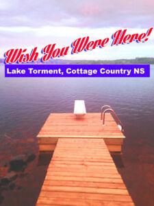 Genuine Lakefront Cottage Country Value ~ Lake Torment