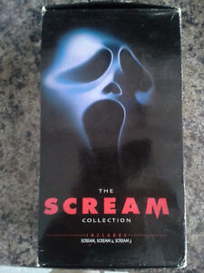 Scream The Collection Horror Movies Halloween Collector set
