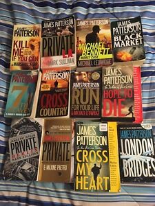 James Patterson novels used lot