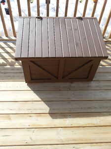 Custom Built White Pine Storage Boxes