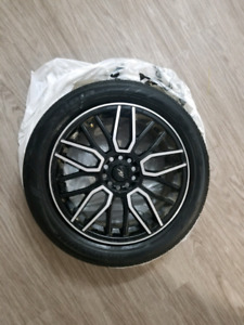17In  ICW Raceing Rims and tires