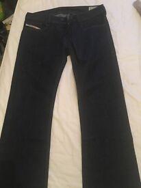 Mens Diesel Boot cut jeans 30r (warn once) £20 ono