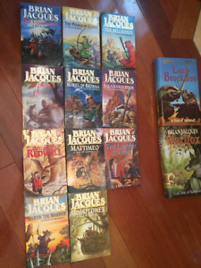 """Brian Jacques """"A Tale of Redwall"""" Series"""