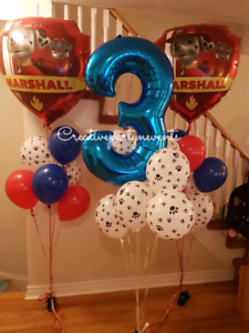 BALLOON COLUMNS, ARCHES AND HELIUM BALLOONS!!!!!!