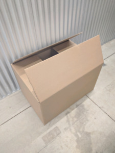 Moving boxes, double walled, 100 lbs , 60*51*83 cm, 48 available