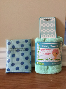Microfibre Twirly Towel and Avon Cleansing Clothes