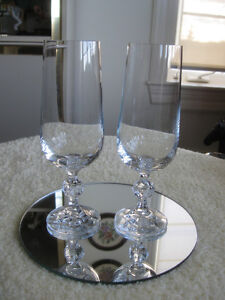 ADD a TOUCH of CLASS.with EXQUISITE CRYSTAL STEMWARE PAIR
