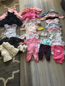 0-3 Month Girls Spring Lot