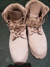 Timberland 6 inch premium boots, Wheat Tan, UK Size 11