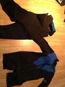 Mares size large 2 piece 7mm wetsuit