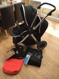 Oyster Max 2 tandem double pushchair (WARRANTY INCLUDED)