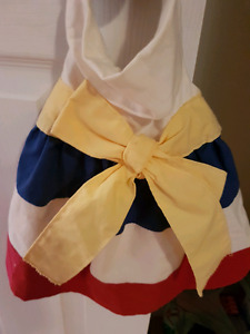 Acadienne size small doggie dress