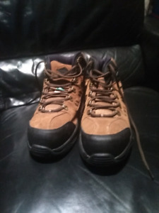 Brown and Black Hiking/Work Boots