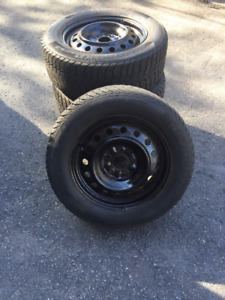 HIMALAYA FEDERAL WINTER TIRES AND RIMS