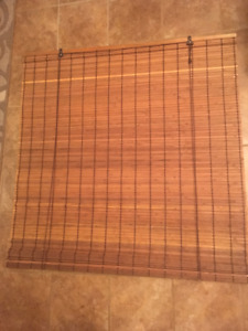Rollup Bamboo Blinds -used