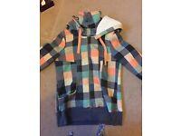 Roxy fleece lined hoody