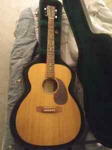 Martin ooom acoustic guitar trade for good quality drums  Cambridge Kitchener Area image 2