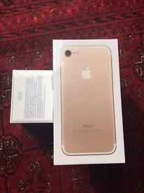 Apple iPhone 7 GOLD 128gb unlocked