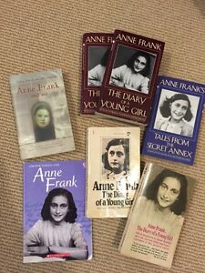 Anne Frank books for sale