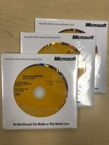 Microsoft Office Home and Business 2010 (QTY=2)