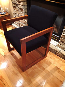 FAUTEUIL EN TECK SCANDINAVE TEAK CHAIR MID CENTURY DANISH CHAIR