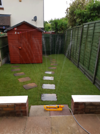 Garden maintenance lawn mowing tidy up services tree surgery