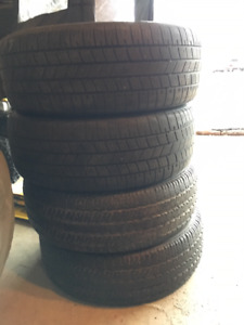 get ready for spring - 4 tires - 235 60 R17