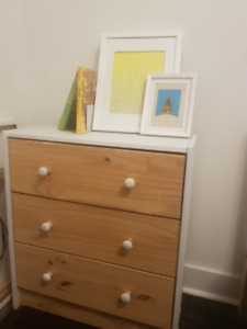 IKEA Dresser (3 drawers, excellent condition)